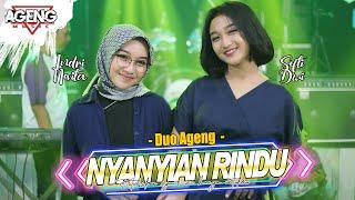 Download NYANYIAN RINDU - DUO AGENG (Indri x Sefti) ft Ageng Music ( Live Music) Mp3/Mp4