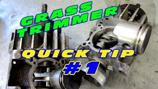 Grass Trimmer Quick Tip #1