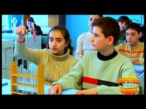 Армянский юмор: Урок химии - что получается при соединении химических элементов ...