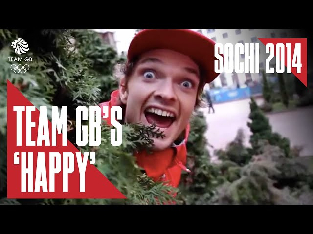 Team GB perform Pharrell's 'Happy' in Sochi 2014 by BBC Sport