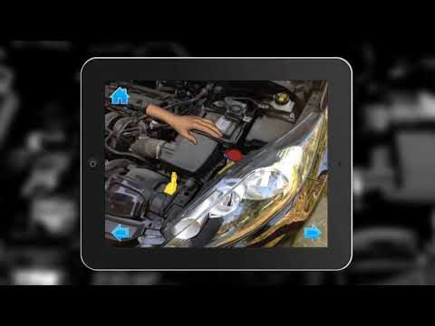 ARmedia Augmented Reality 3D tracker (Ford Ordinary Maintenance)