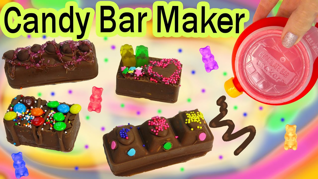 Popular Chocolate Candy Chocolate Candy Bar Maker Kit