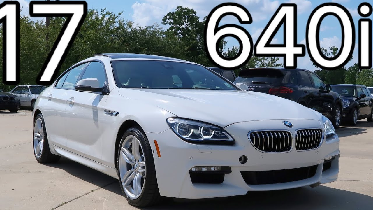 2017 bmw 6 series 640i gran coupe review start up exhaust youtube