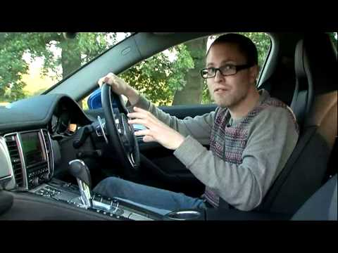 Porsche Panamera S Hybrid - Fifth Gear Web TV