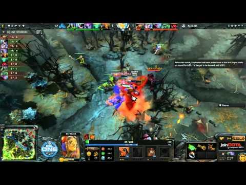 Cloud9 vs Rox.KIS Game 2 - joinDOTA League EU Semifinals - Sheever & Vykromond