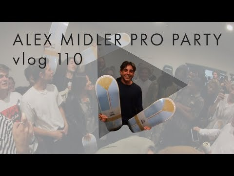Alex Midler Turns Pro Party