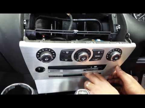 BMW 6 Series E63/E64  CCC Navigation Professional SAT NAV How To Remove Procedure