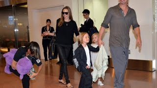 Angelina Jolie and Brad Pitt's custody tangle