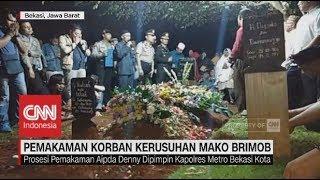 Kelima Korban Kerusuhan di Mako Brimob Dimakamkan