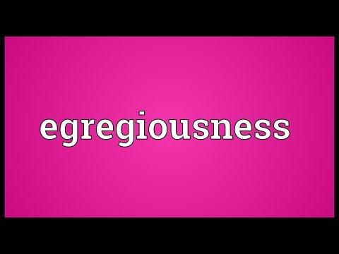 Header of egregiousness