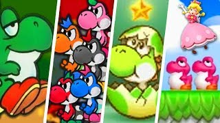 Evolution of Baby Yoshi (1990 - 2019)