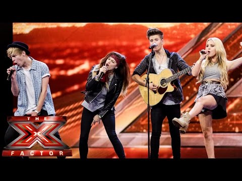 Only The Young sing Dolly Parton's 9 to 5 | Boot Camp | The X Factor UK 2014