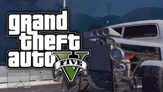 "GTA 5: Secret Cars ""Rat Loader"" (GTA V)"