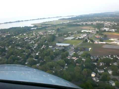 Landing in Sandusky Ohio 06-09-09