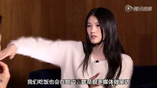 Sui He interview after Victoria's secret 2014 in China