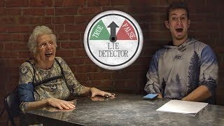 Grandma And Ross Take Lie Detector Test! | Ross Smith