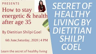Stay Healthy ,Stay Energetic!!!