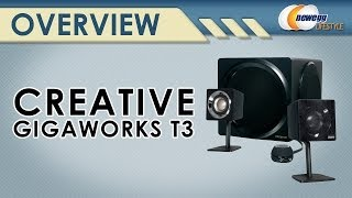 Creative GigaWorks T3 2.1 Speakers Overview - Newegg Lifestyle