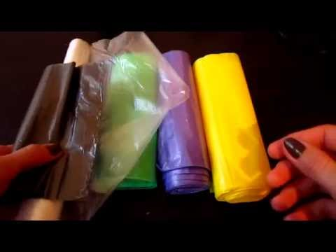Как сделать пряжу из мусорных пакетов