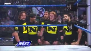 WWE Edge & Alberto Del rio & Kofi kingston & Kane & Big Show vs The Nexus pt.1