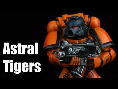 How To Paint Space Marines Astral Tigers Warhammer 40k