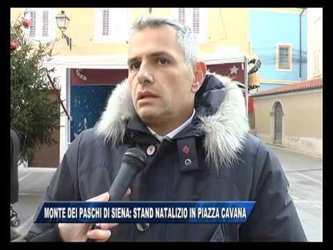 11/12/2015 - MONTE DEI PASCHI DI SIENA: STAND NATALIZIO IN CAVANA