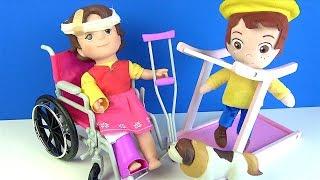 Heidi neden oyuncak tekerlekli sandalyede Heidi na
