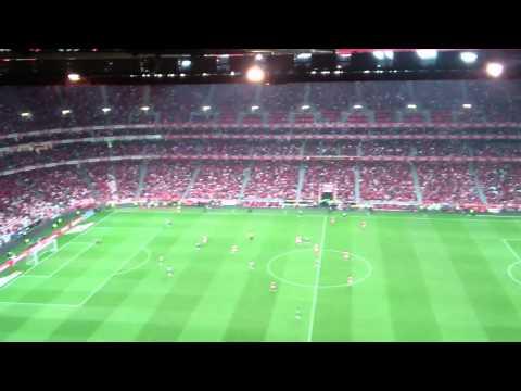Benfica vs. sporting - 21/4/2013 - Golo de Lima