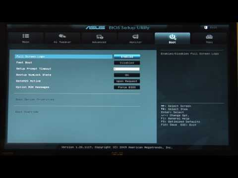 ASUS EFI GUI BIOS for P5Q series Motherboards