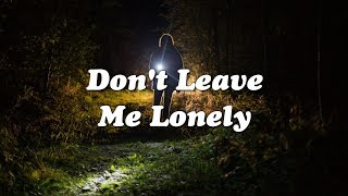 ​​​​Mark Ronson - Don't Leave Me Lonely (ft. YEBBA) (Lyrics Video)