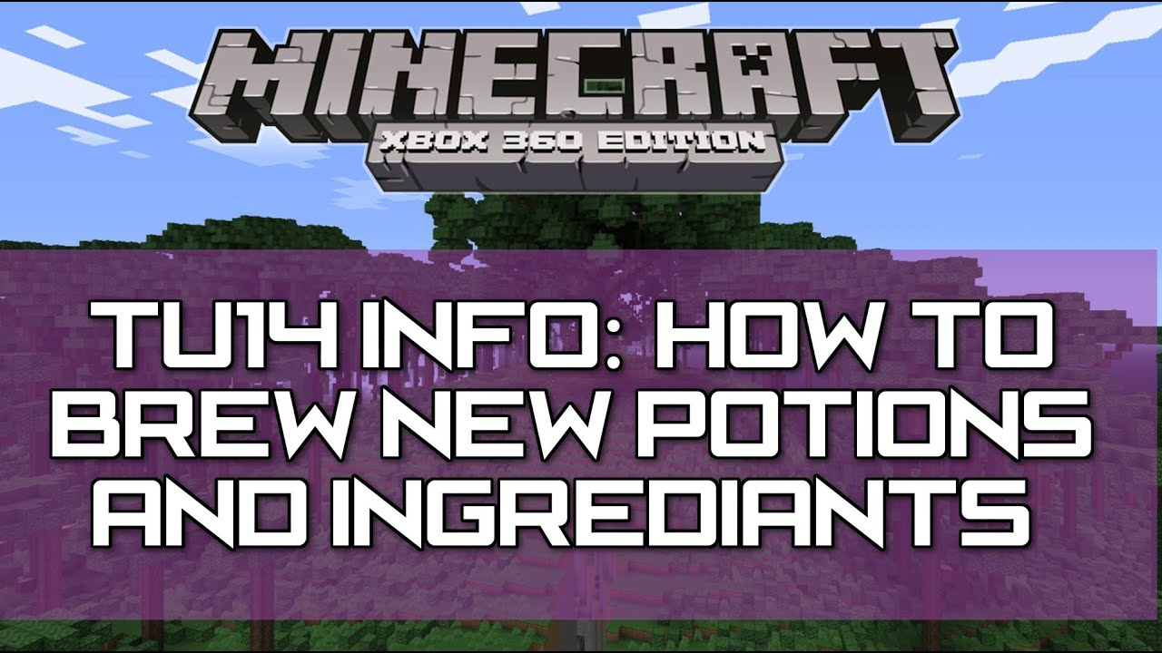 how to make night vision potion in minecraft ps3