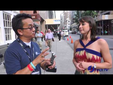 Interview with Luria Petrucci (also known as Cali Lewis) of GeekBeat TV at CE Week June 2013