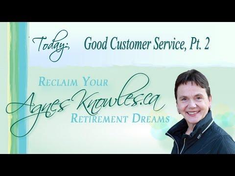 Good Customer Service Pt 2