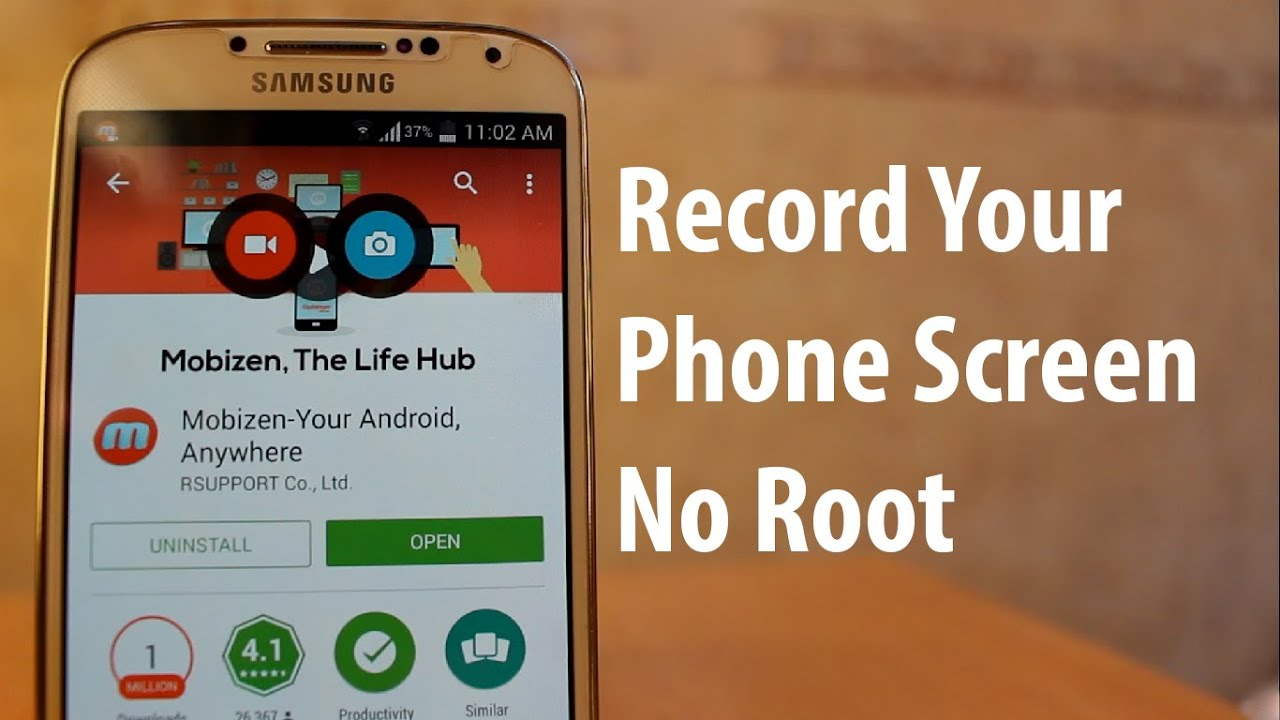 How To Record Your Phone Screen Without Root For Android