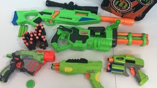 Toy Weapons Toy Guns Nerf Guns Box of Toys Green Guns