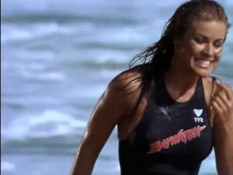 Carmen Electra - Baywatch (Black Swimsuit) Video