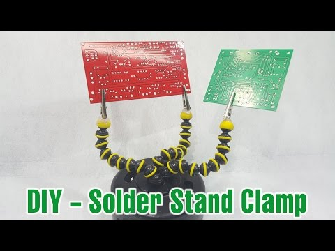 Make a Solder Stand Clamp from Gorillapod in 2 minute at home
