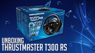 Thrustmaster T300 RS - Kierownica do PS3/PS4 - Unboxing