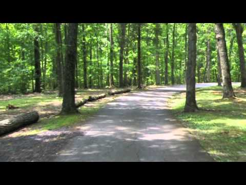 Virtual Driving Tour Montgomery Bell State Park, Tennessee.