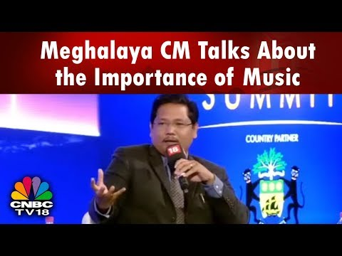 #News18RisingIndia: Meghalaya CM Conard Sangma Talks About The Importance Of Music In His Life