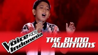 Era Bima 34 Bukan Rayuan Gombal 34 I The Blind Auditions I The Voice Kids Indonesia Globaltv 2016