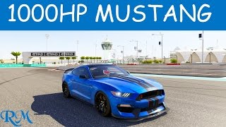Forza 6 2016 Ford Shelby Mustang GT350R Top Speed
