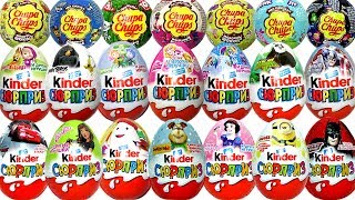 Киндер Сюрприз Kinder Surprise Eggs Маша и Медведь Paw Patrol Surprise Toys Chupa Chups Robocar Poli