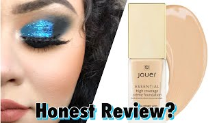 Jouer High Coverage Foundation Honest Review For Oily Skin,- Jennifer Barraza