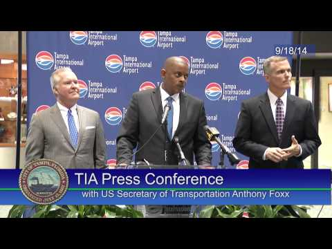 TIA Press Conference with US Secretary of Transportation Anthony Foxx 9/18/14