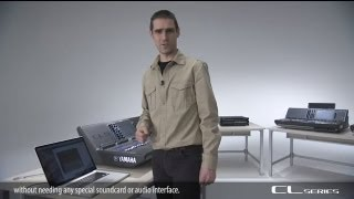 Live recording: 2-track & Multi-track : Yamaha Digital Mixing Console CL Series