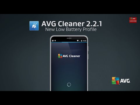 Setting Up the AVG Cleaner Low Battery Profile in 20 Seconds