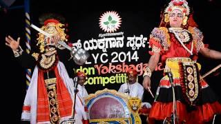 Yakshagana Abhimanyu Kalaga by Puthige R Holla team at LYC 35