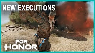 For Honor: New Executions | Week of 07/25/2019 | Weekly Content Update | Ubisoft [NA]