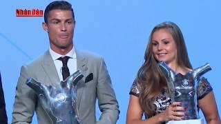Tin Thể Thao 24h Hôm Nay (19h - 25/8): Ronaldo Giành Giải Cầu Thủ Xuất Sắc Nhất Châu Âu